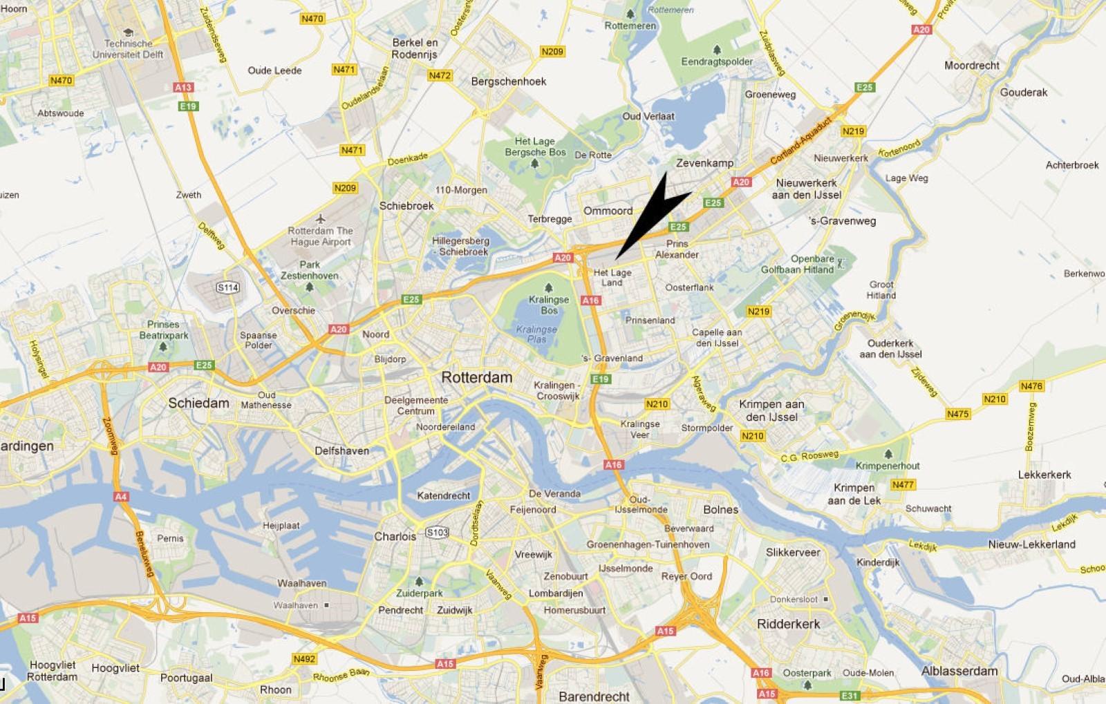 Europa kaart met stedendating